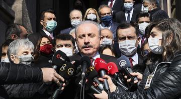 TBMM Başkanı Şentop: HDPli Gergerlioğlunun dosyası dün akşam Meclise geldi