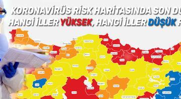 Koronavirüs tablosu ve il il risk haritasında son durum... İllere göre haftalık harita yayınlandı... İşte 16 Mart Türkiye Kovid-19 tablosu ve vaka sayısı