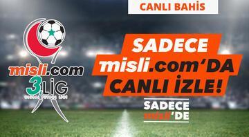 Misli.com 3. Lig Canlı Yayınları ve Canlı İddaa (17 Mart 2021)