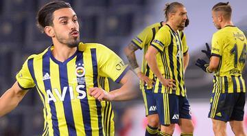 Fenerbahçenin 11inde 4 kritik değişiklik Caner Erkin, İrfan Can Kahveci...