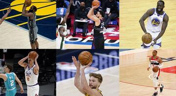 NBAde tarihi gün, altı triple-double birden