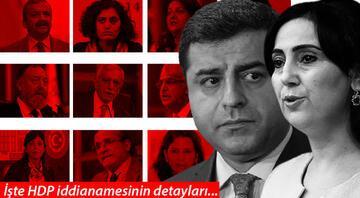 Yüzlerce kişiye siyaset yasağı talebi: Demirtaş ve Yüksekdağ da var