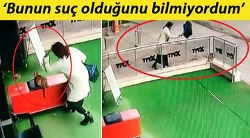 Ankarada kediye şiddet uygulayan kadına para cezası