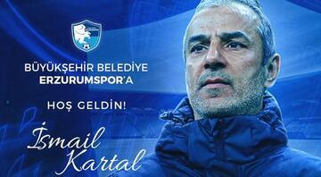 BB Erzurumspor'da İsmail Kartal dönemi resmiyete kavuştu