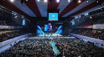 AK Parti 7. Olağan Büyük Kongresine 11 siyasi partinin temsilcileri katıldı