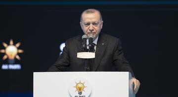 AK Partinin 7. Olağan Büyük Kongresi... Cumhurbaşkanı Erdoğanın merakla beklenen konuşması başladı