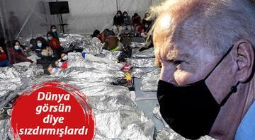 Herkesten gizlenen fotoğraflar sızdı... Biden tartışılan mülteci kampına gidiyor