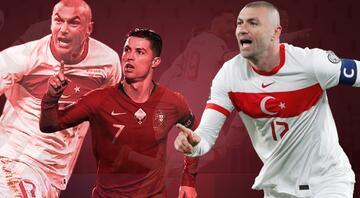Burak Yılmazın Türkiye-Hollanda maçında attığı gol olay oldu Cristiano Ronaldo ile yarışıyor