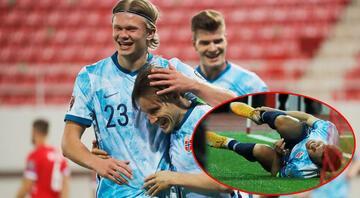 Milli Takımın rakibi Norveçte sakatlık şoku Martin Odegaard Türkiye maçında oynayabilecek mi