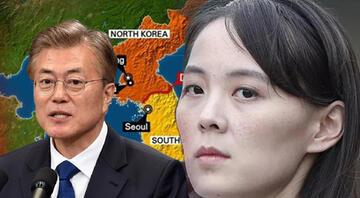 Kuzey Kore liderinin kız kardeşi Kimden, Güney Kore Devlet Başkanına ABDnin