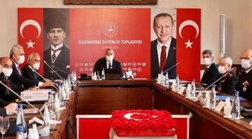 İçişleri Bakanı Soylu, Kastamonuda Güvenlik Toplantısına katıldı