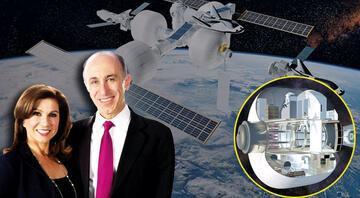 Türk çiftin NASA projesi: Şişme uzay istasyonu