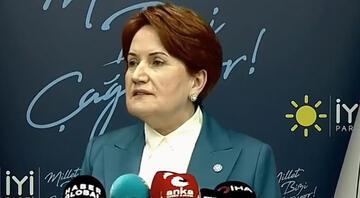 İYİ Parti Genel Başkanı Akşenerden bildiri tepkisi: Zevzekliktir