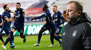 Kasımpaşa 1-0 Beşiktaş (Maçın özeti)