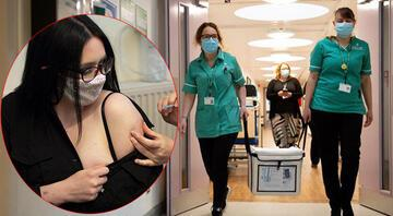 Son dakika haberler: Sağlık Bakanı açıklamıştı... Birleşik Krallıkta ilk doz Moderna aşısı yapıldı