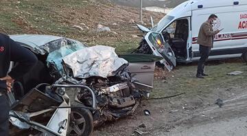 Kahramanmaraşta feci kaza: 3 ölü, 3 yaralı