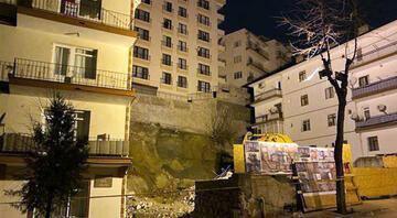 Ankarada çökme riski nedeniyle 14 bina boşaltıldı Müteahhitten skandal sözler