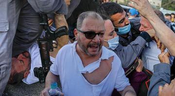 George Floydu hatırlattı... İsrail polisinden kendi milletvekiline saldırı