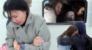 Konyada peş peşe 2 otobüs devrildi Ölü ve çok sayıda yaralı var