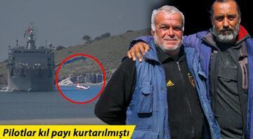 Pilotların kurtarılmasına yardım eden balıkçılar konuştu