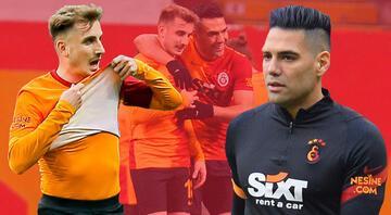 Galatasarayda Radamel Falcao ve Kerem Aktürkoğlu hastaneye kaldırıldı Resmi açıklama: Falcaonun yüzünde kırık var...