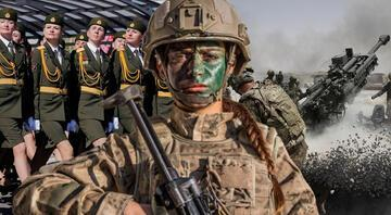 En güçlü ordular belli oldu Listede Türkiye de var