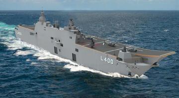 Savunma sanayisi TCG Anadoluyu göreve hazırlıyor