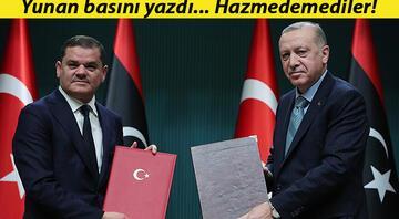 Yunanistan medyasında Libya Başbakanı Dibeybenin Ankara ziyareti: Türkiyeyle anlaşmaya sadık kaldı