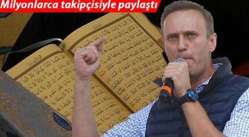 Rus muhalif Navalnıy, kendisine Kuran-ı Kerim vermeyi reddeden hapishane yönetimini mahkemeye verdi