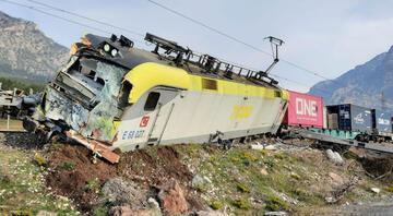 Adananın Pozantı ilçesinde tren kazası