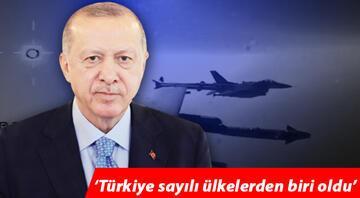 Cumhurbaşkanı Erdoğan paylaştı: Türkiye sayılı ülkelerden biri oldu... İlk atışta tam isabet