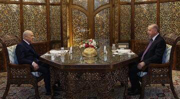 Cumhurbaşkanı Erdoğan, MHP lideri Bahçeli ile iftarda bir araya geldi