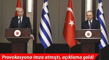 Yunanistandan flaş Türkiye açıklaması