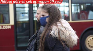 İsrailde açık alanlarda maske zorunluluğu kaldırıldı