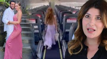 Şeyma Subaşına sevgilisi Mohammed Alsaloussiden uçak jesti