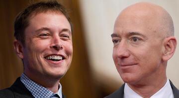 Bezos ve Musk yine karşı karşıya geldi, son gülen iyi güldü
