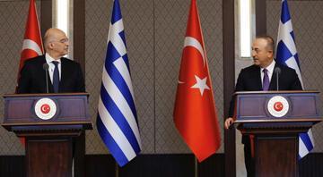 Bakan Çavuşoğlu Dendias samimi davranmadı dedi ve ekledi: Her şeye rağmen adım atmaya hazırız