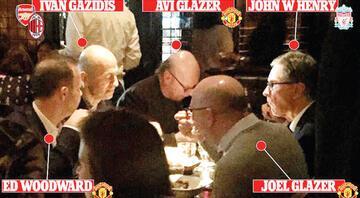 Süper Lig kararı bu masada mı alındı Yıl 2017 ve o lokanta...