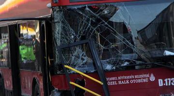 Beşiktaşta çift katlı İETT otobüsü kaza yaptı 1 kişi hayatını kaybetti