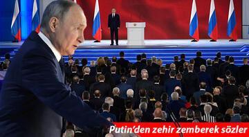 Son dakika.. Putinden şok sözler: Umarım hiçbir ülke kırmızı çizgilerimizi aşmaz
