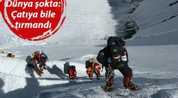 Son dakika haberler... Everest Dağında ilk Kovid-19 vakası görüldü