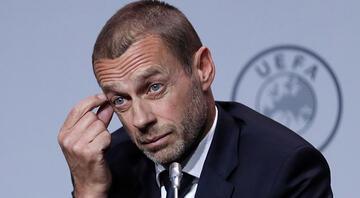 UEFA Başkanı Aleksander Ceferinden Avrupa Süper Ligi için flaş sözler