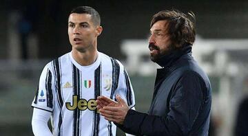Cristiano Ronaldoya kötü haber Hatası çok konuşulmuştu, Pirlo cezasını kesiyor...