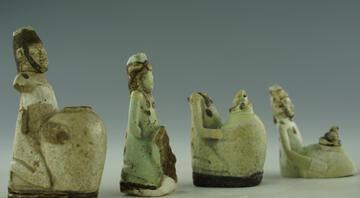 Mısırdan Anadoluya uzanan 2 bin 700 yıllık koku kapları İzmir Arkeoloji Müzesinde