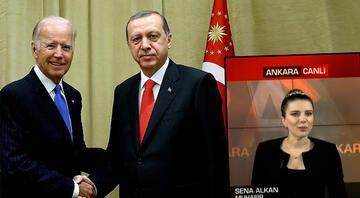 Cumhurbaşkanı Erdoğan-Biden görüşmesinde ne konuşuldu Sena Alkan canlı yayında anlattı