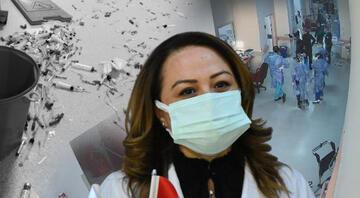 Malatyada hastanede doktora çirkin saldırı Annesi koronavirüsten hayatını kaybedince...