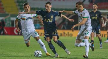 Alanyaspor 0-0 Fenerbahçe (Maçın özeti ve önemli anları)