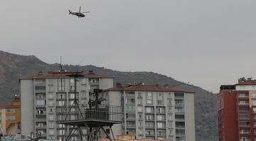 Terör örgütü PKKya yönelik operasyonların yürütüldüğü Şırnakta askeri hareketlilik