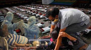 Hindistanda çaresiz kalan hastalar için camiler ve İslami okullar Kovid-19 merkezine çevrildi
