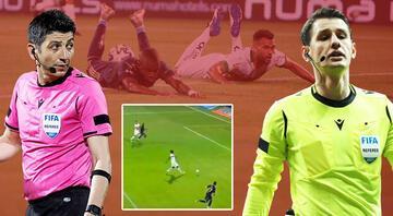 Türkiye bunu konuşuyor: Ofsayt mı, penaltı mı
